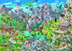 Heye Triangular Puzzle - Tanck: Alpine Fun 1000 db-os (29680)