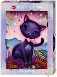 Heye Black Kitty - Fekete cica 1000 db-os (29687)