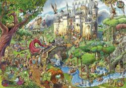 Heye Triangulat Puzzle - Prades: Fairy Tales 1500 db-os (29414)