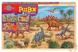 TS Shure PuzBox Dinók fa óriás puzzle 4x24db (K-0992)