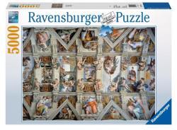 Ravensburger Sixtus-kápolna 5000 db-os (17429)