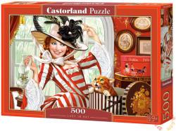 Castorland Hölgy kalapban 500 db-os (B-52165)