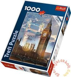Trefl London hajnalban 1000 db-os (10395)