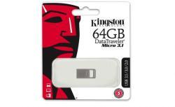 Kingston DataTraveler Micro 64GB USB 3.1 DTMC3/64GB