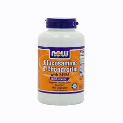NOW Glucosamine Chondroitin MSM (180db)