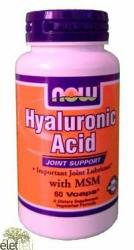 NOW Hyaluronic Acid 50 Mg Msm (60db)