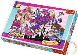 Trefl Szuperhős Barbie 100 db-os (16280)