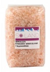 Sóland Himalája kristálysó Finom Rózsaszín 1kg