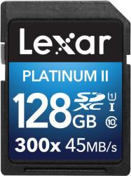 Lexar SDXC Platinum II 128GB Class 10 LSD128BBEU300