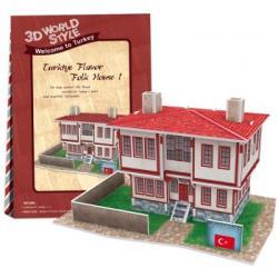 CubicFun Török ház 3D 26 db-os