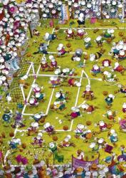 Heye Triangular puzzle - Mordillo - Crazy Football 1000 db-os