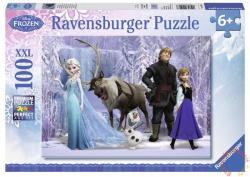 Ravensburger XXL Puzzle - Disney Jégvarázs: A Hókirálynő birodalma 100 db-os (10516)