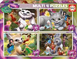 Educa Multi 4 Puzzles - Csingiling 4in1 150,100,80 és 50 db-os (16350)