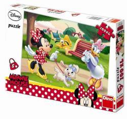 Dino XL puzzle Minnie és Daisy 100 db-os (343306)