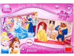 Dino Disney Hercegnők 2x66 db-os (385030)