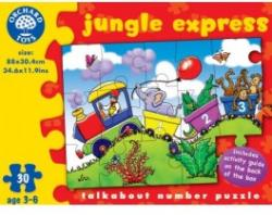 Orchard Toys Dzsungel Expressz 30 db-os (232)
