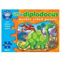 Orchard Toys Kétoldalas Puzzle Dínó 12 db-os (302)