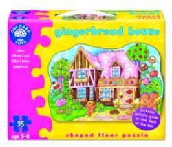 Orchard Toys Padlópuzzle Mézeskalács házikó 35 db-os (261)