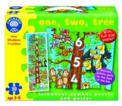 Orchard Toys Számolós fa 30 db-os puzzle és poszter (276)