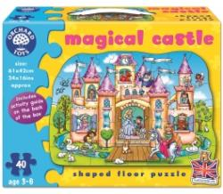 Orchard Toys Padlópuzzle Varázslatos kastély 40 db-os (263)