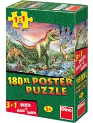 Dino XL Poster Puzzle Dínók 150 db-os