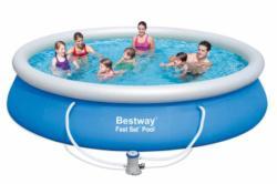 Bestway ARAL puhafalú kerti medence vízforgatóval 427x91cm (FFA 147)
