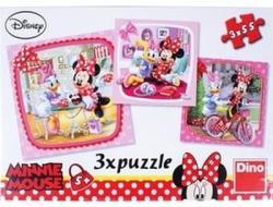 Dino Minnie és Daisy 3x55 db-os (335110)