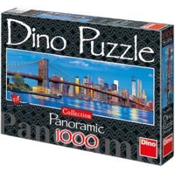 Dino Panoráma Puzzle Brooklyn-híd 1000 db-os (545229)