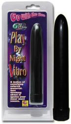 NMC Play By Night Vibro rúdvibrátor fekete