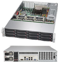 Supermicro SSG-6028R-E1CR12H