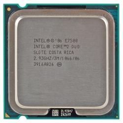 Intel Core 2 Duo E7500 2.93GHz LGA775