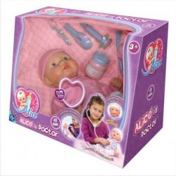 D-Toys Papusa Bebe Alice la doctor (64929)