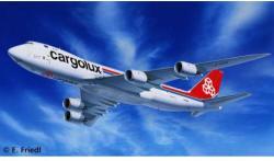 Revell Boeing 747-8F Cargolux 1/144 4885