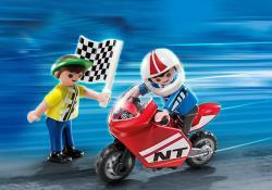 Playmobil Fiúk és a motorverseny (4780)