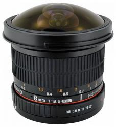 Samyang 8mm f/3.5 UMC CS II Fisheye (Pentax)