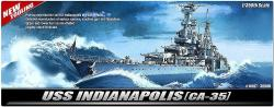 Academy USS Indianapolis CA-35 (14107)