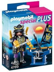 Playmobil Szamuráj és fegyverállványa (4789)