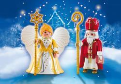 Playmobil Szent Miklós és a Karácsony angyala (5592)