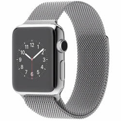 Apple Watch 38mm Stainless Steel Case Milanese Loop