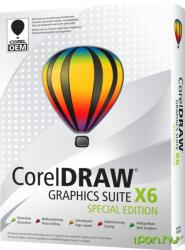 Corel CorelDRAW Graphic Suite X6 Special Edition CDGSX6SPITEU