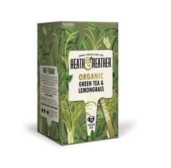 Heath & Heather Zöld Tea Citromfűvel 20 filter