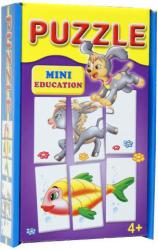 D-Toys Mini Oktató Puzzle - Állatok