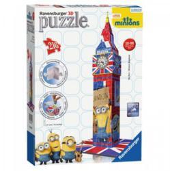 Ravensburger 3D puzzle Minyonok -  Big Ben 216 db-os (12589)