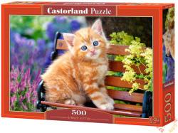 Castorland Vörös cica a padon 500 db-os (52240)