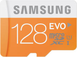 Samsung MicroSDXC 128GB EVO Class 10 UHS-I MB-MP128DA