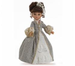 Paola Reina Papusa Printesa Carol in rochie gri (4554)
