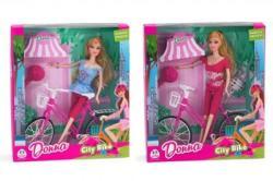Globo Papusa Donna cu bicicleta (GL36990)
