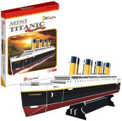 CubicFun 3D Mini puzzle Titanic 30 db-os (S3017)