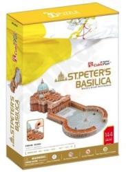 CubicFun 3D puzzle Szent Péter-bazilika 144 db-os (MC092H)