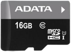 ADATA Premier microSDHC 16GB Class 10 AUSDH16GUICL10-RM3BKBL
